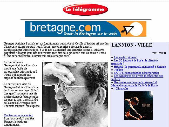 Le télégramme_GAS_29-01-2000_page1