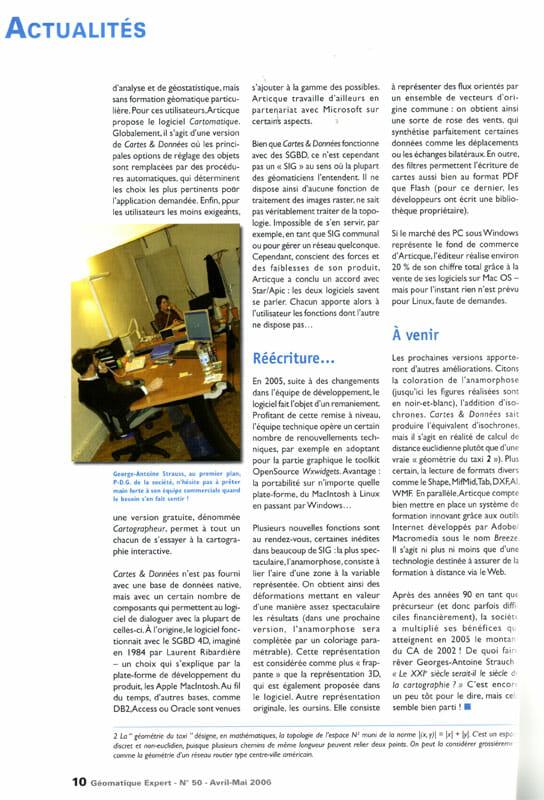 Geomatique Expert_La geomatique différemment_01-05-2006_page2