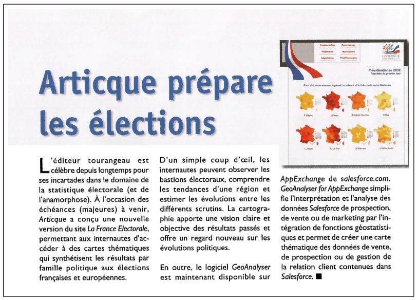 Géomatique Expert_La France Electorale_01-02-2007