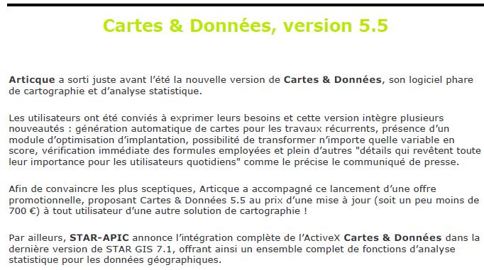 SIG la lettre_Cartes & Données 5.5_19-09-2007