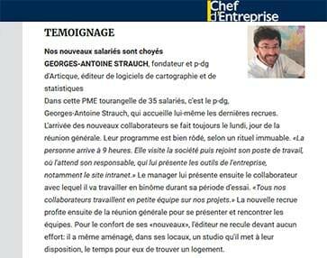 Miniature Article Chef d'Entreprise