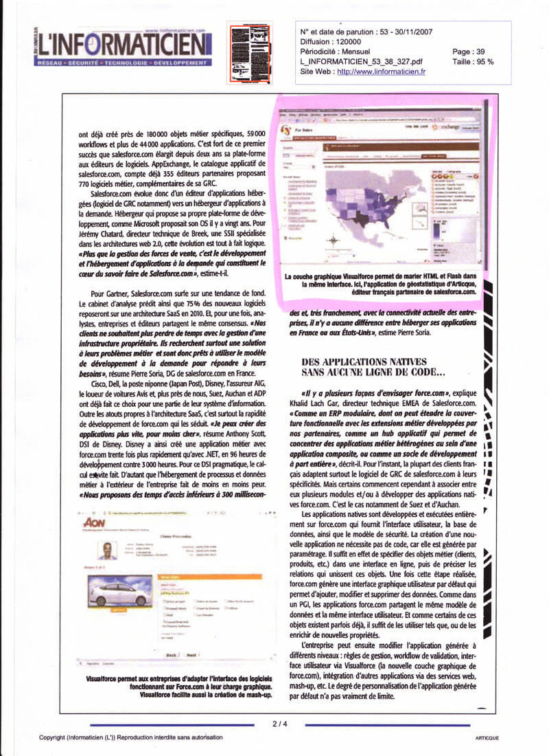 L'informaticien_ERP Salesforce_30-11-2007_page2