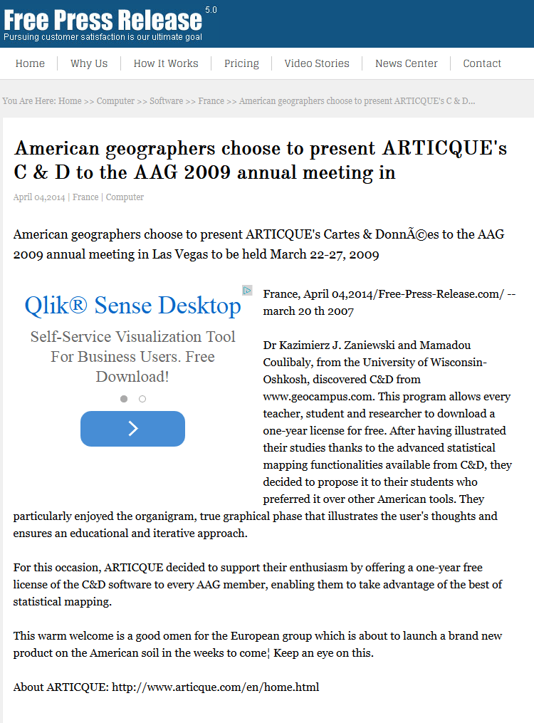 Free press release_C&D_24-03-2009