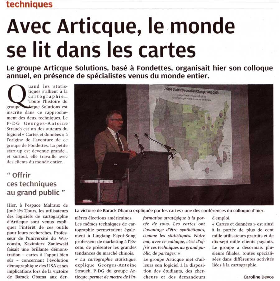 La Nouvelle République_Colloque annuel_03-02-2010
