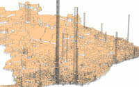 Cartes d'Hervé Théry sur la démographie du Brésil en2010