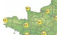 Cartes météo du 4 au 10 mars2012