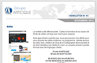 Newsletter n°41 – novembre2013