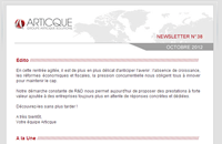 Newsletter n°38 – octobre 2012