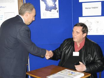 Photo d'Hervé Théry, conférencier et professeur