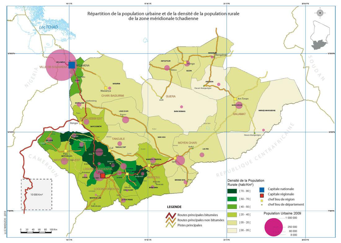 Cartes du Tchad proposées par Zied Nhouchi - Articque
