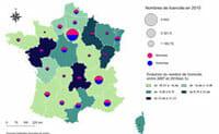 Cartographie des arts martiaux en France