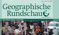 Page de couverture de la revue Geographische Rundschau