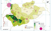 Cartographie du Tchad par Zied Nhouchi