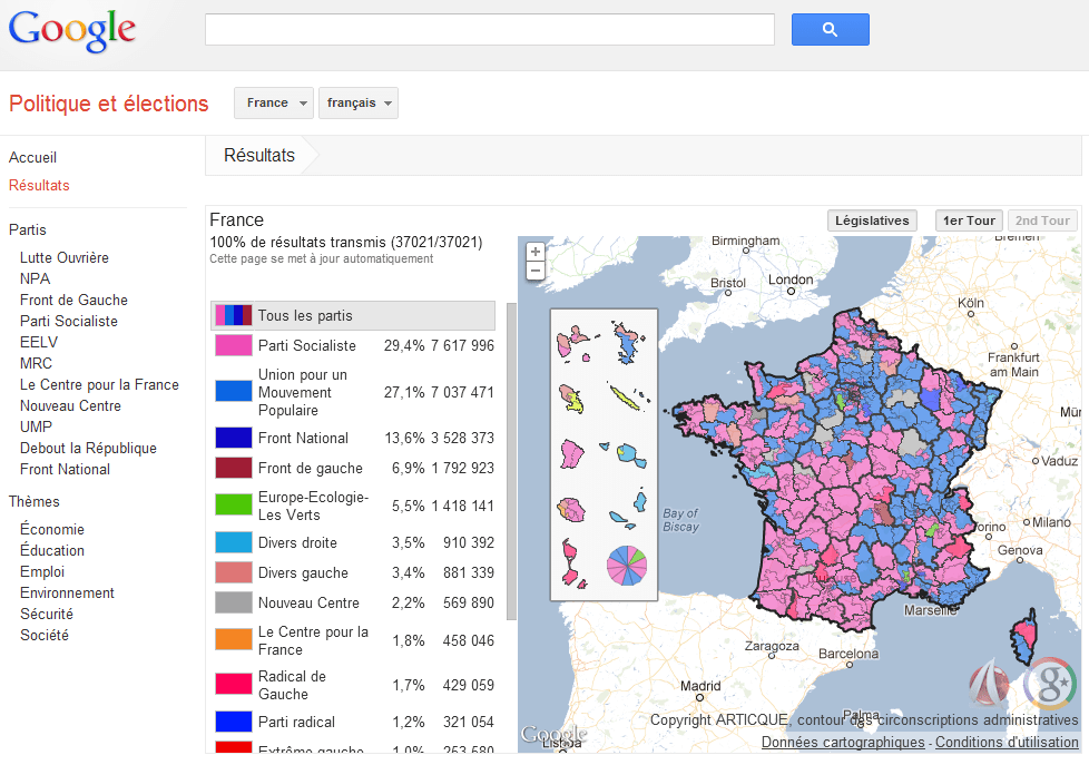 ecranGoogleElectionsPolitique