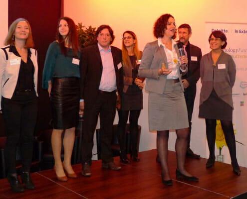 Discours d'Hélène Auguet lors de la remise de prix Deloitte