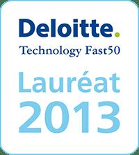 Logo Lauréat Deloitte Technology Fast 50 2013