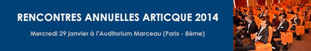 Rencontres annuelles Articque 2014