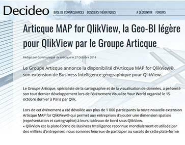 Image de l'article Decideo sur QlikView par Articque