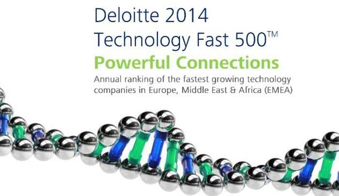 Articque primée par Deloitte Technology Fast 500