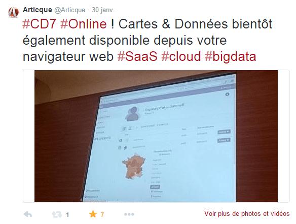 Congrès-Articque-Cartes&Données-CD7-Online-geomarketing-bigdata-dataviz-cartographie-Tweet
