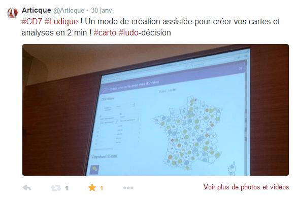 Congrès-Articque-Cartes&Données-CD7-Online-ludo-decision-geomarketing-bigdata-dataviz-cartographie-Tweet