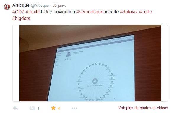 Congrès-Articque-Cartes&Données-CD7-Online-sémantique-geomarketing-bigdata-dataviz-cartographie-Tweet