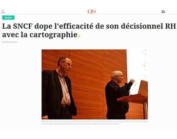 La SNCF booste sa stratégie RH avec la cartographie