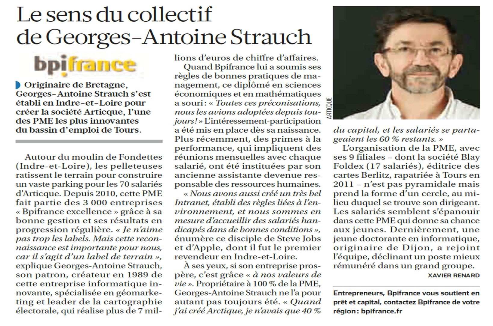 Le sens du collectif de Georges-Antoine Strauch - La Croix