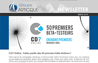 Newsletter n°43 – mars2015