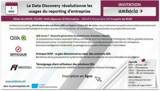 Invitation Ambacia événement Data Discovery