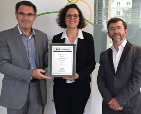 Articque reçoit le prix du Partenaire Technologique 2016