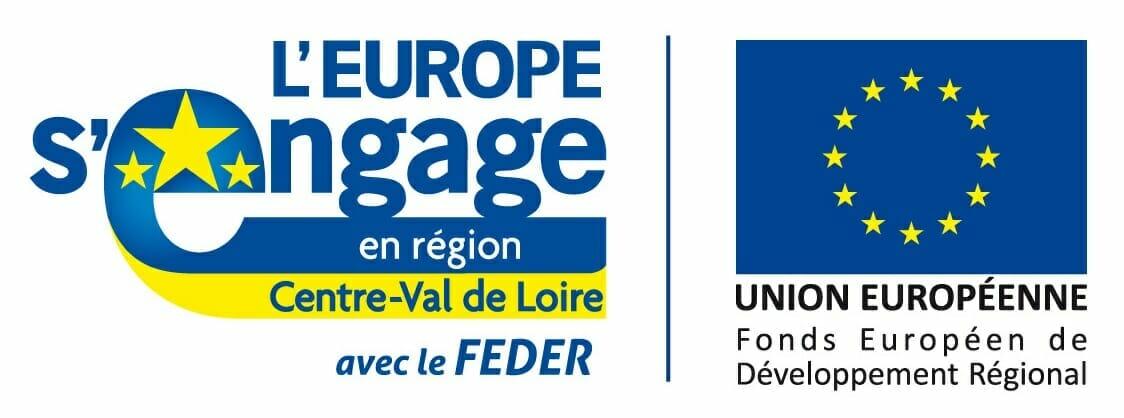 Logos Centre Val de Loire et Europe