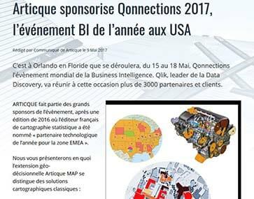 Articque sponsorise Qonnections 2017