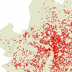 Étude de geomarketing et traitement des bases de données