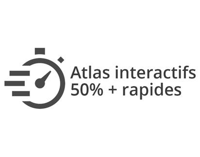 Atlas web et visualisation : réglage des niveaux maximum et minimum de zoom