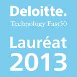 Logo Lauréat 2013 du prix Deloitte