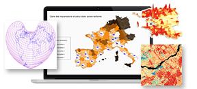 Pratique de la cartographie statistique