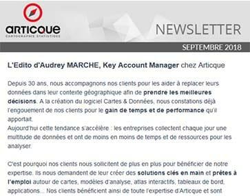 Newsletter n°48 - édito Audrey Marché