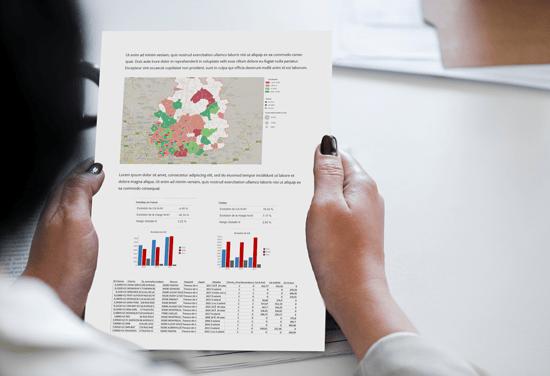 Editez vos données en HD grâce à la solution Cartes & Données