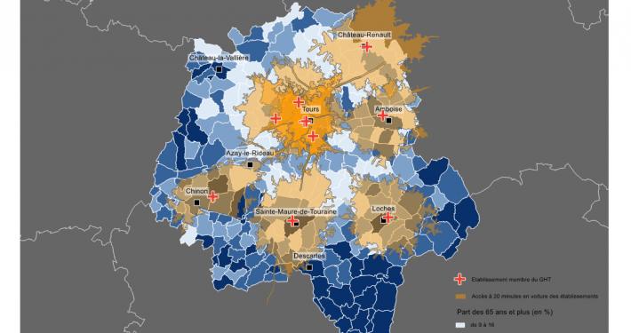 Accessibilité des établissements du GHT Touraine Val de Loire