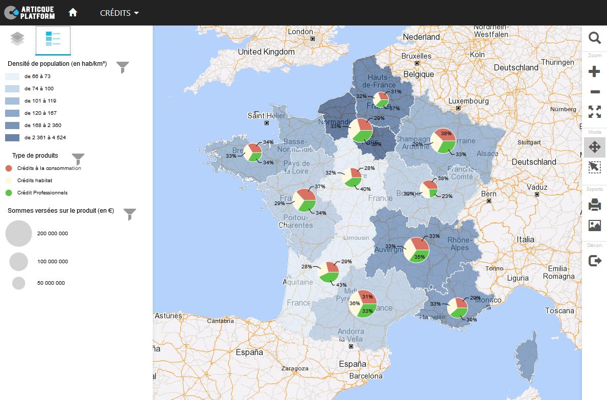 Atlas géomarketing : visualisez votre potentiel