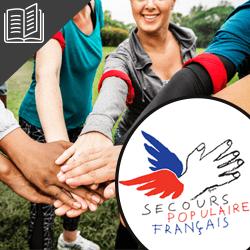 Acitivité associative : le Secours Populaire Français
