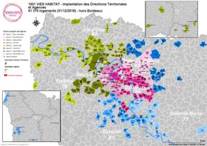 Directions territoriales et Agences en Ile-de-France