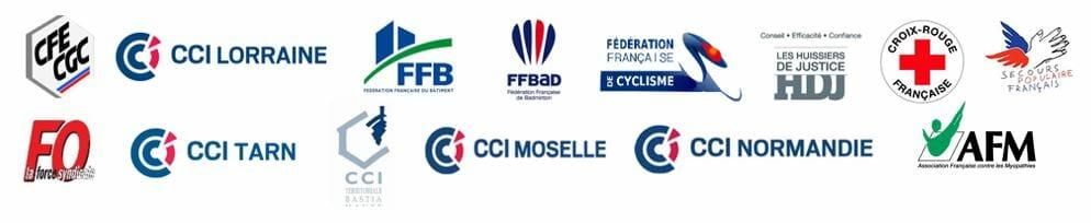 nos références clients de fédérations et d'associations