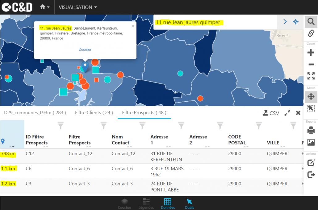 Carte Bretagne Distance.Tutoriel Comment Calculer La Distance A Vol D Oiseau Dans