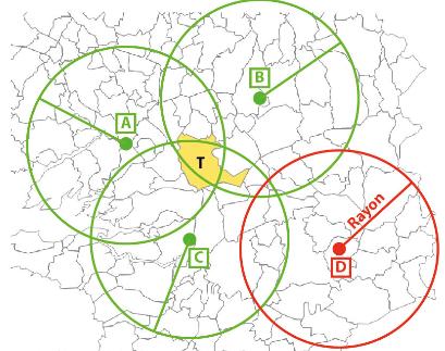 Définition de l'interpolation dans Cartes & Données