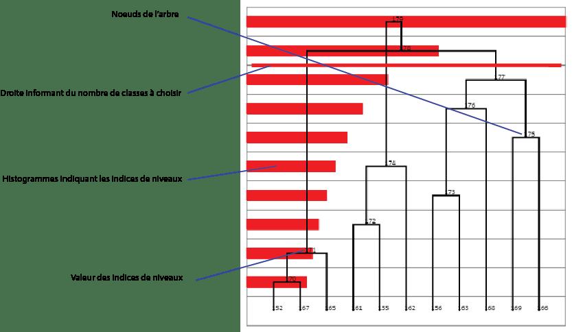 Représentation graphique du module CAH