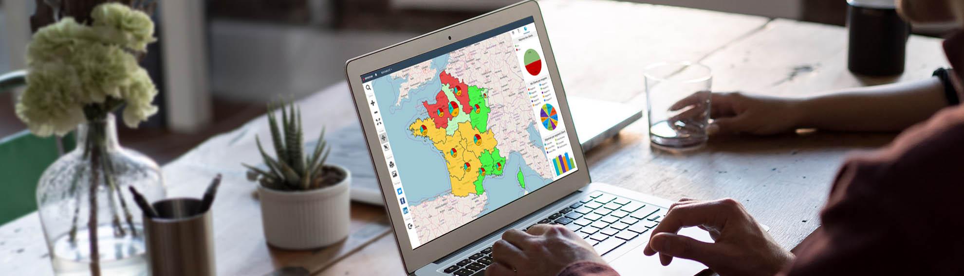 Cartes & Données, le logiciel de cartographie statistique d'Articque