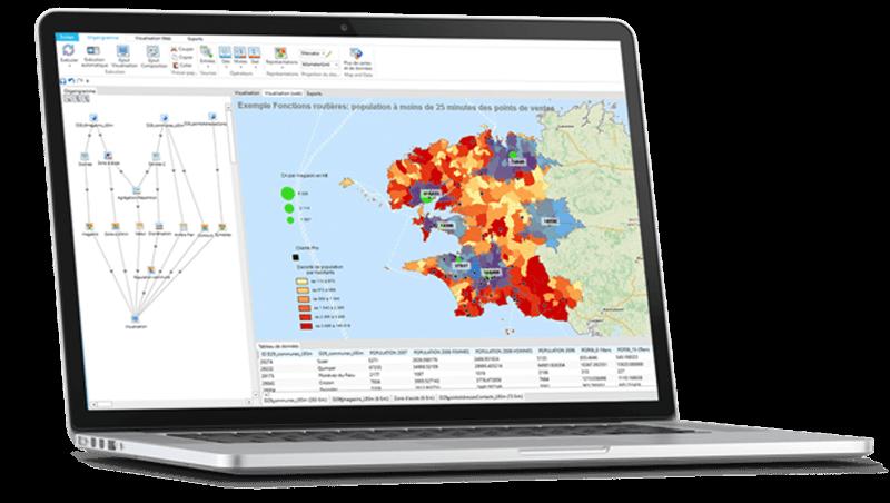 C&D, le logiciel de cartographie gratuit