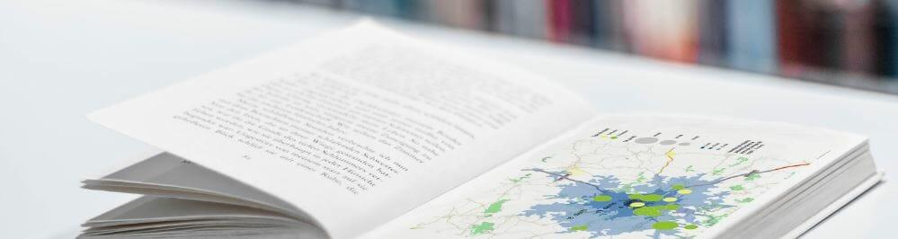 livre de cartes sur le géomarketing